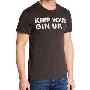 Chaser Men's Keep Your Gin Up Tee M NWT
